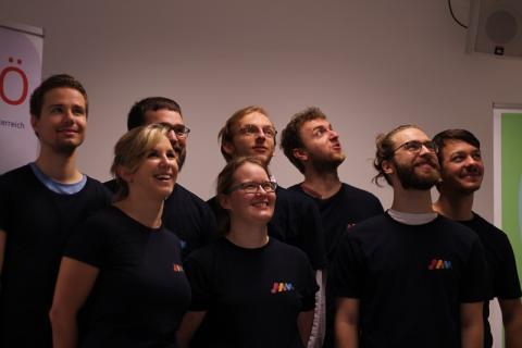 JAMÖ-Vorstand und Kernteam